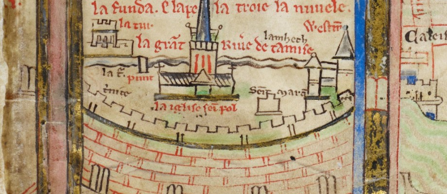 1390 AD:  London in the Late Middle Ages