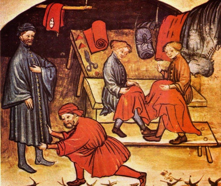 The tailors of London and their guild, c.1300-1500.