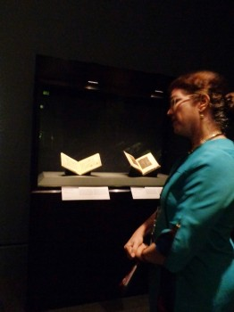 Manuscript Conservator and exhibit curator Nancy Turner provides some insight on the exhibit.