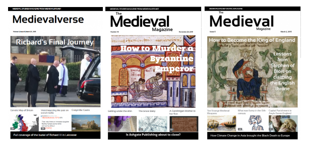 Medieval Magazine: Kings and Queens Special
