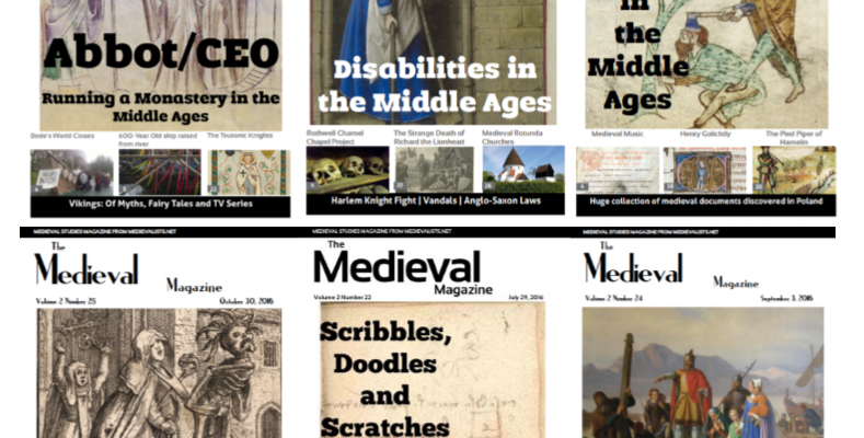A Special Offer from The Medieval Magazine – $4.99 a month!