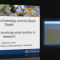 Community Archaeology and the Black Death