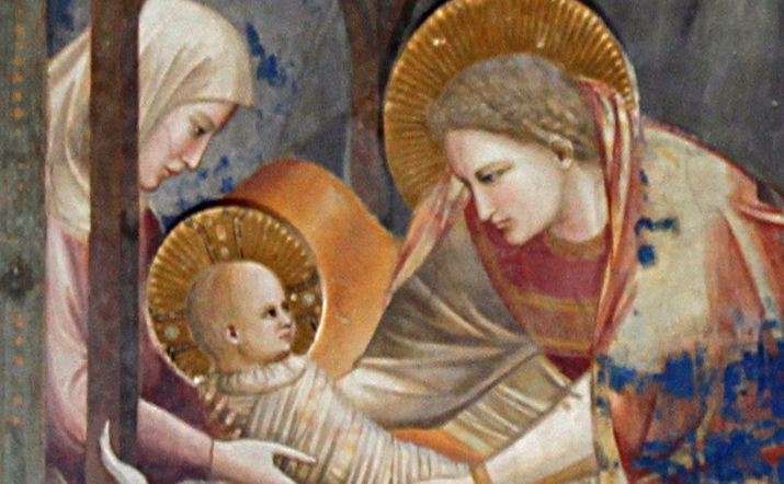 a vision of baby jesus from 1344 medievalists net