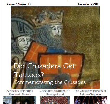 The Medieval Magazine: The Crusades (Volume 2 Issue 30)