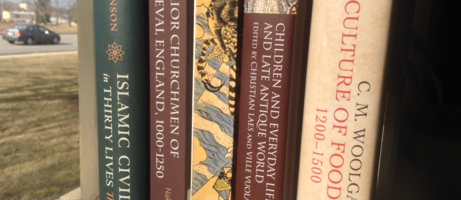 New Medieval Books: English Food to Japanese Demons