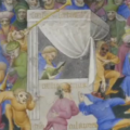 Imagining the Past: Interplay between literary and visual imagery in late medieval France