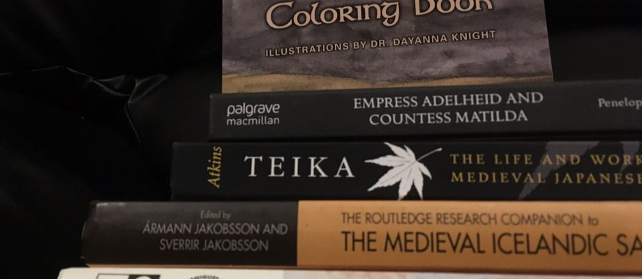 New Medieval Books: Add a little color to your Viking