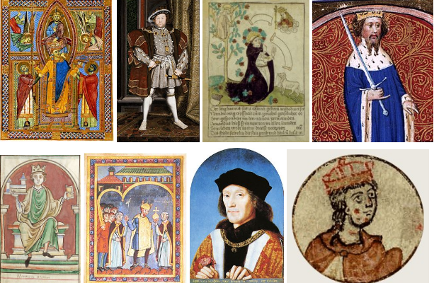Cheat Sheet to the Medieval Henrys