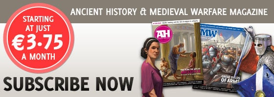 Medieval Warfare and Ancient History magazines