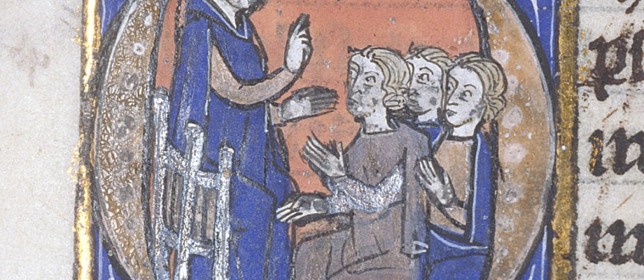 Which medieval scholar would you study under?