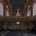 'Lost chapel' of Westminster Palace revealed in new 3D model
