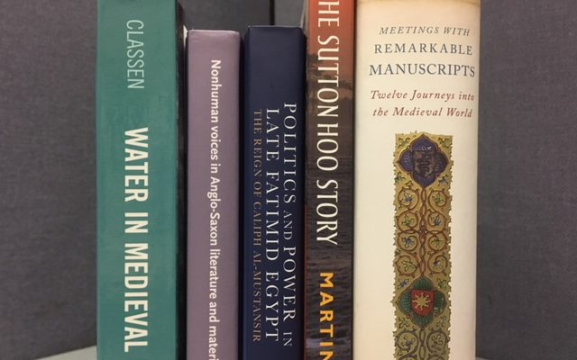 New Medieval Books: From Manuscripts to Sutton Hoo