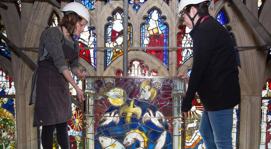 York minster great east window