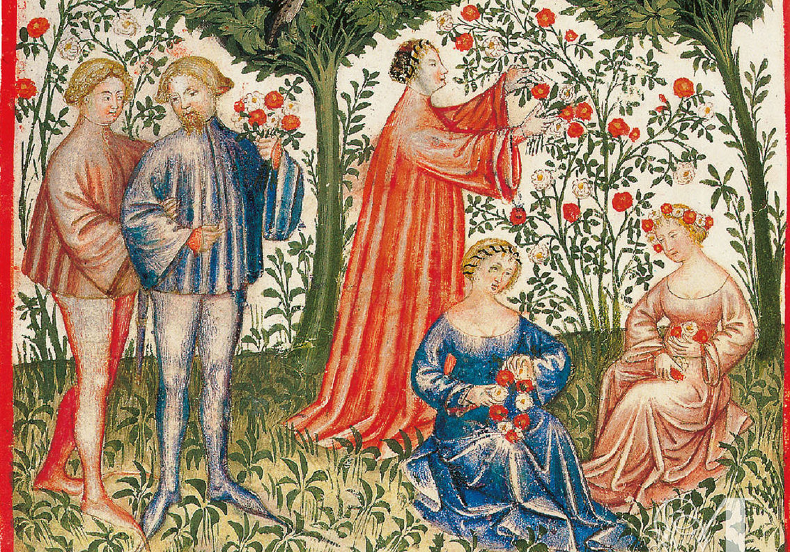 Medieval manuscripts: Ways to Savour Spring in the Middle Ages -  Medievalists.net