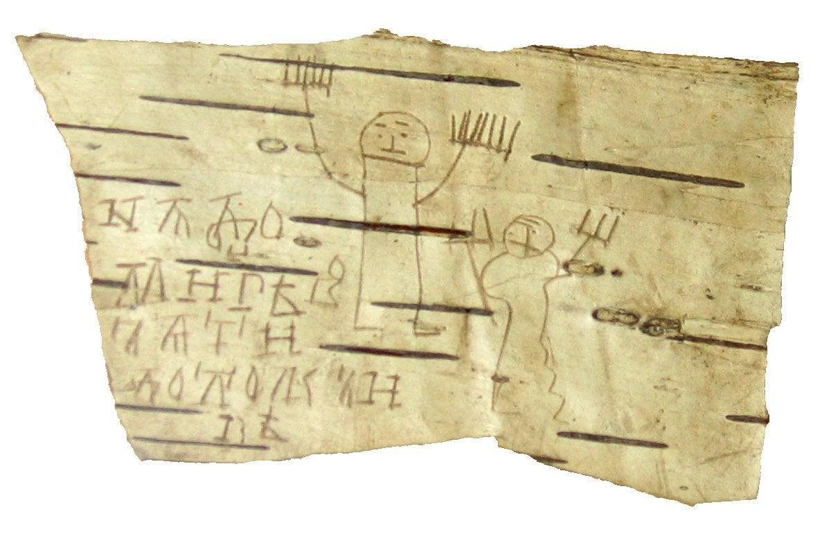 Medieval Daily Life on Birchbark
