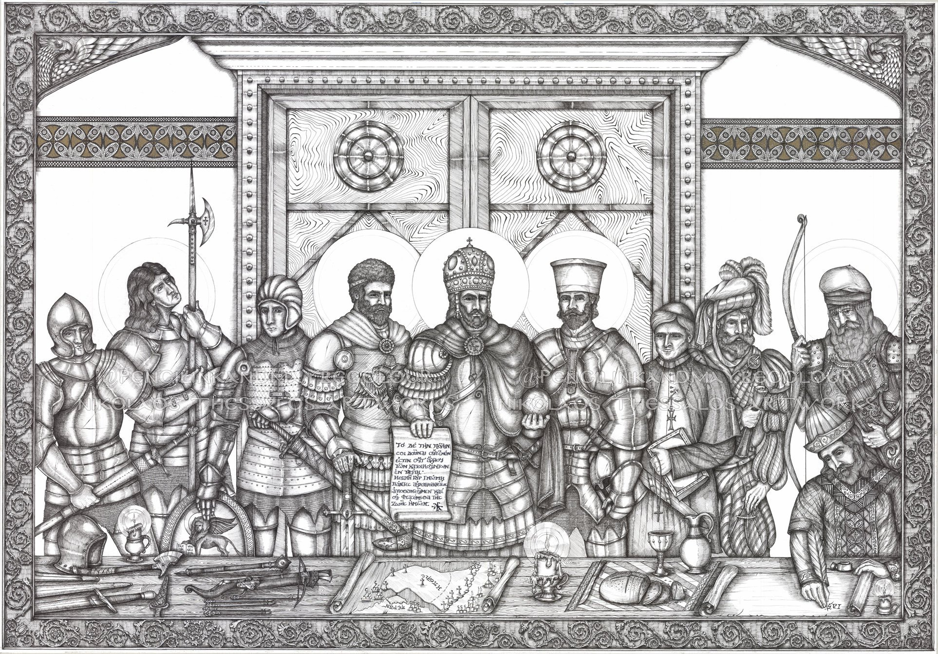 A View on the Middle Ages: The Last Defenders of Constantinople ...