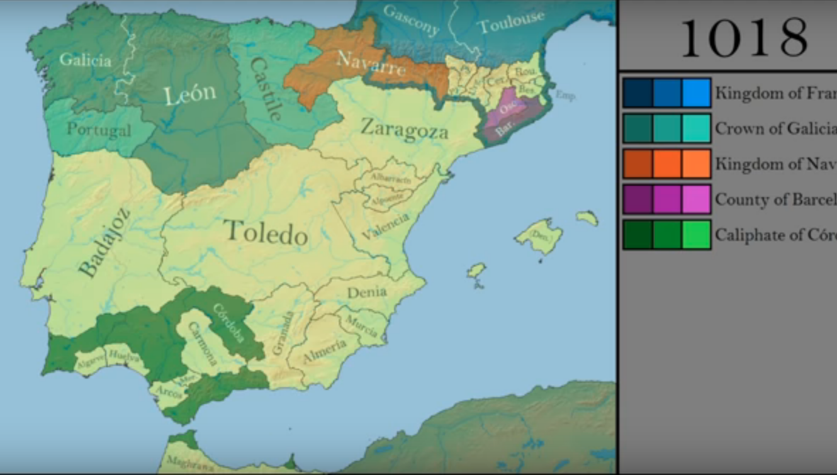 How The Borders Of Iberia Changed In The Middle Ages Medievalists Net
