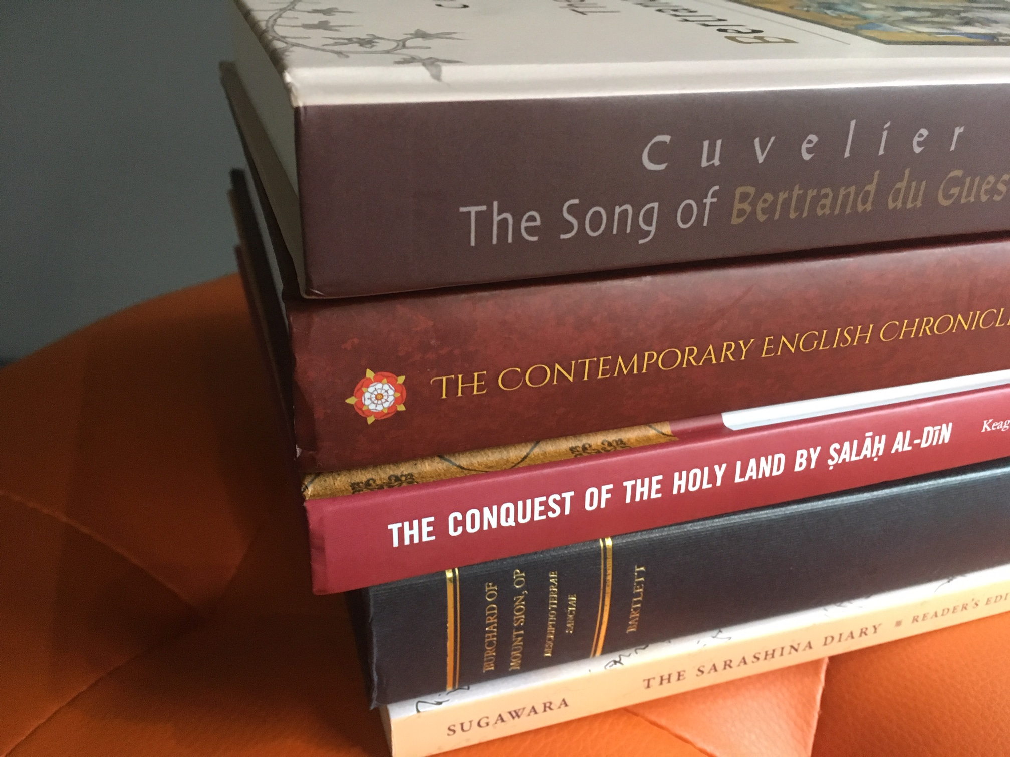 New Medieval Books: Texts and Translations