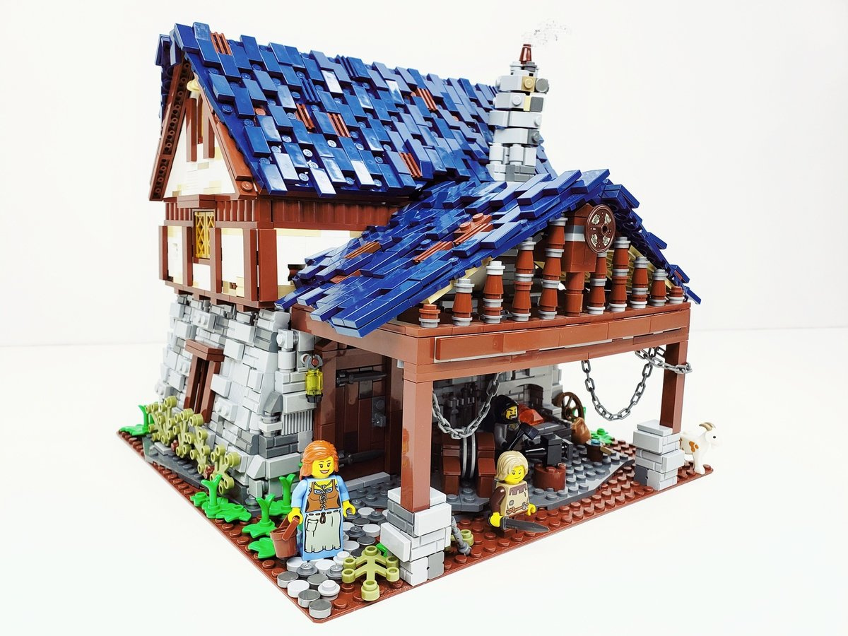Building the Middle Ages one LEGO Brick at a time - Medievalists net