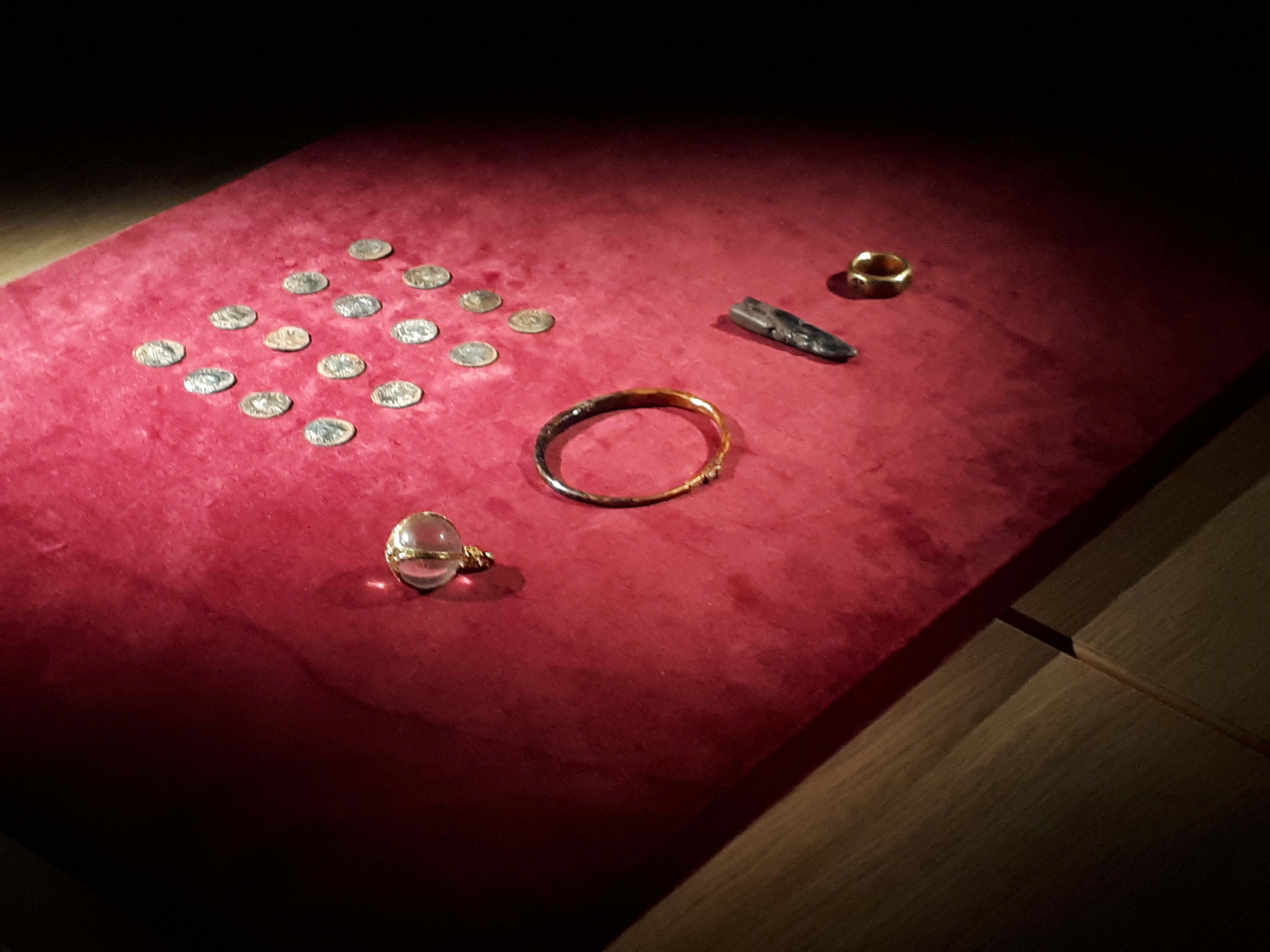 Four men convicted of looting medieval English treasure hoard