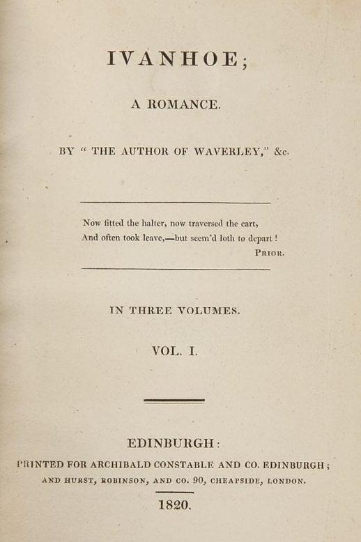 Medieval Reads: Ivanhoe, by Walter Scott