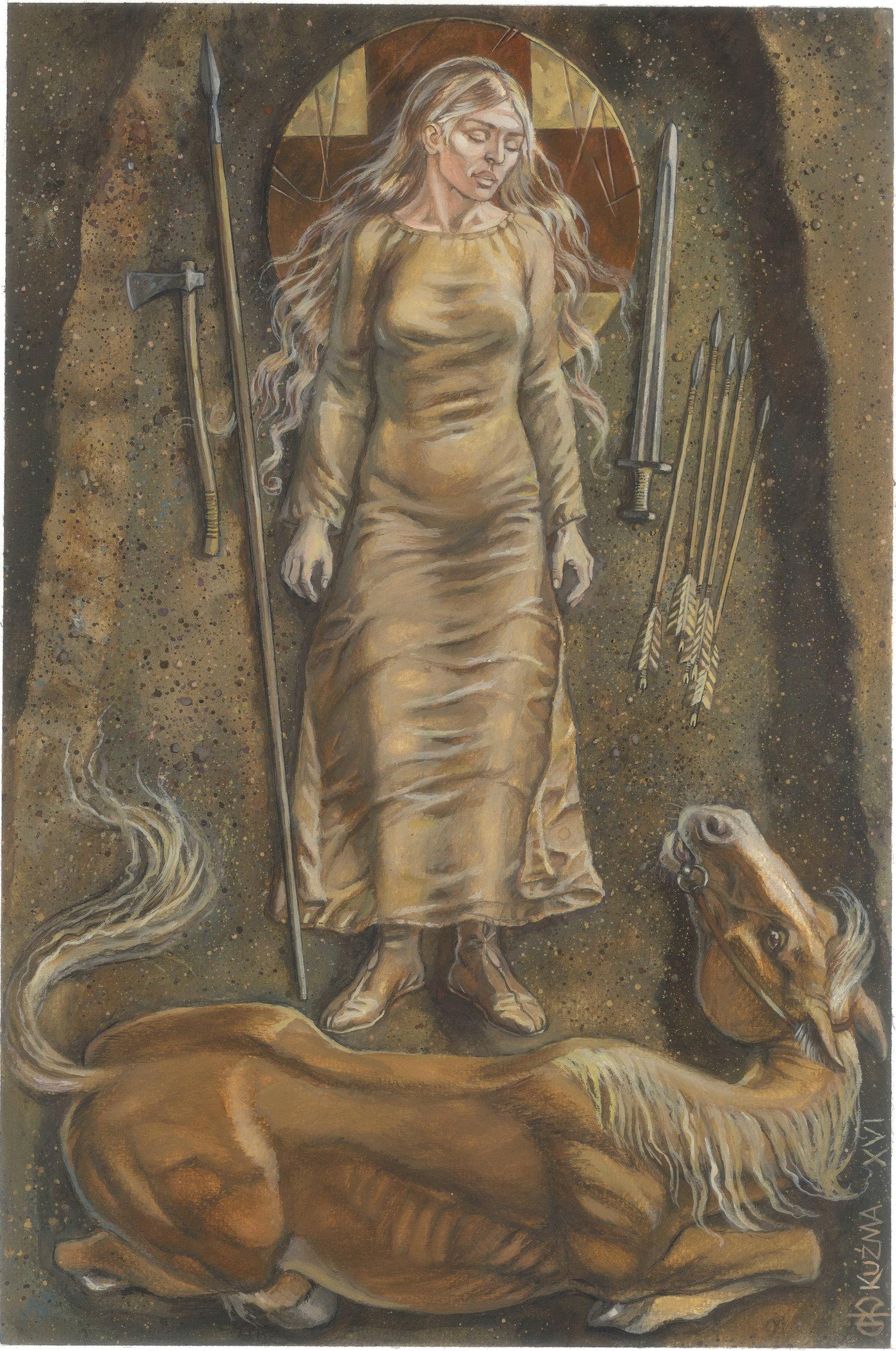 Warriors, Warlocks, Widows: Women and Weapons in the Viking World