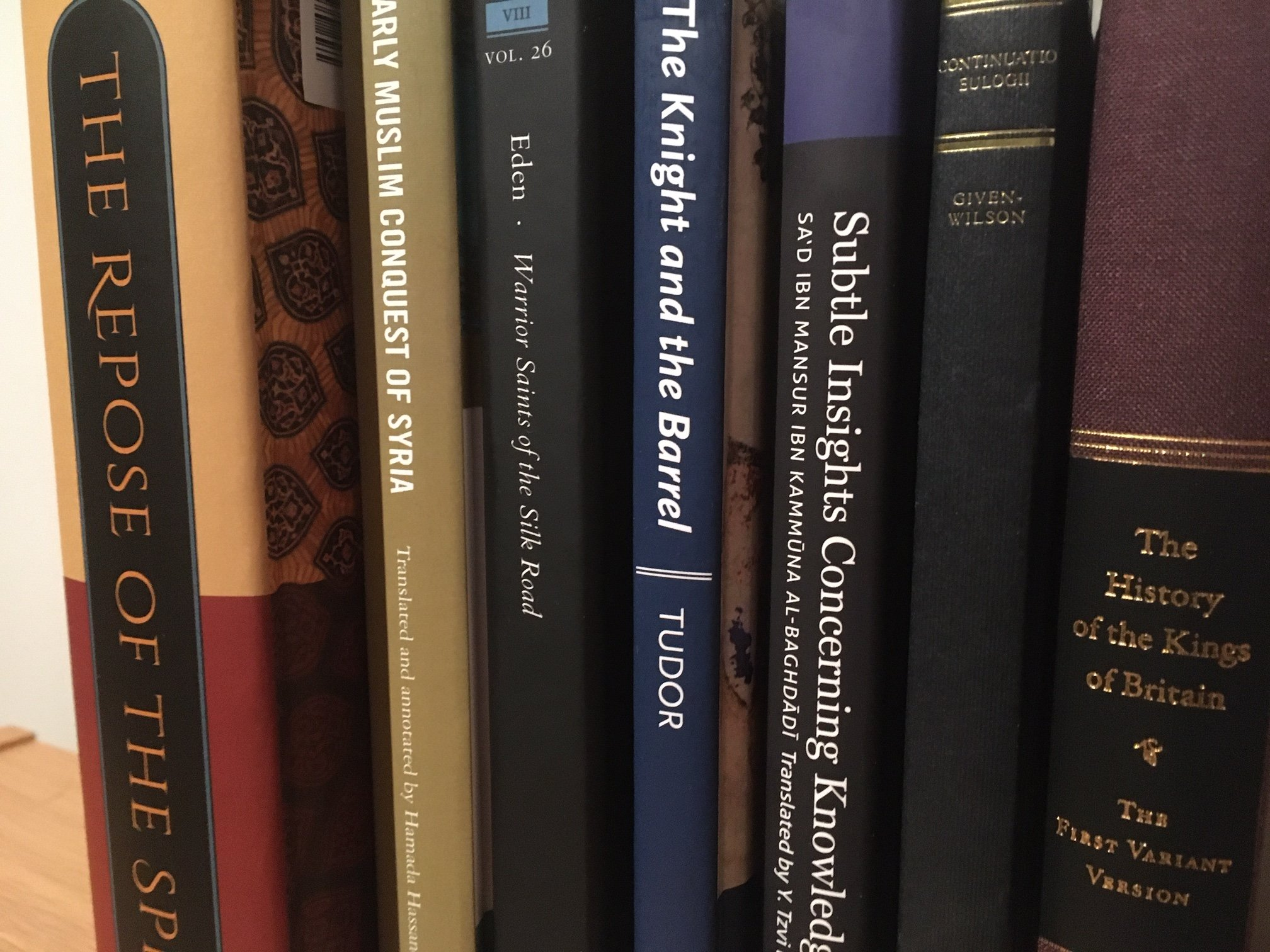 New Medieval Books: New Translations of Medieval Texts