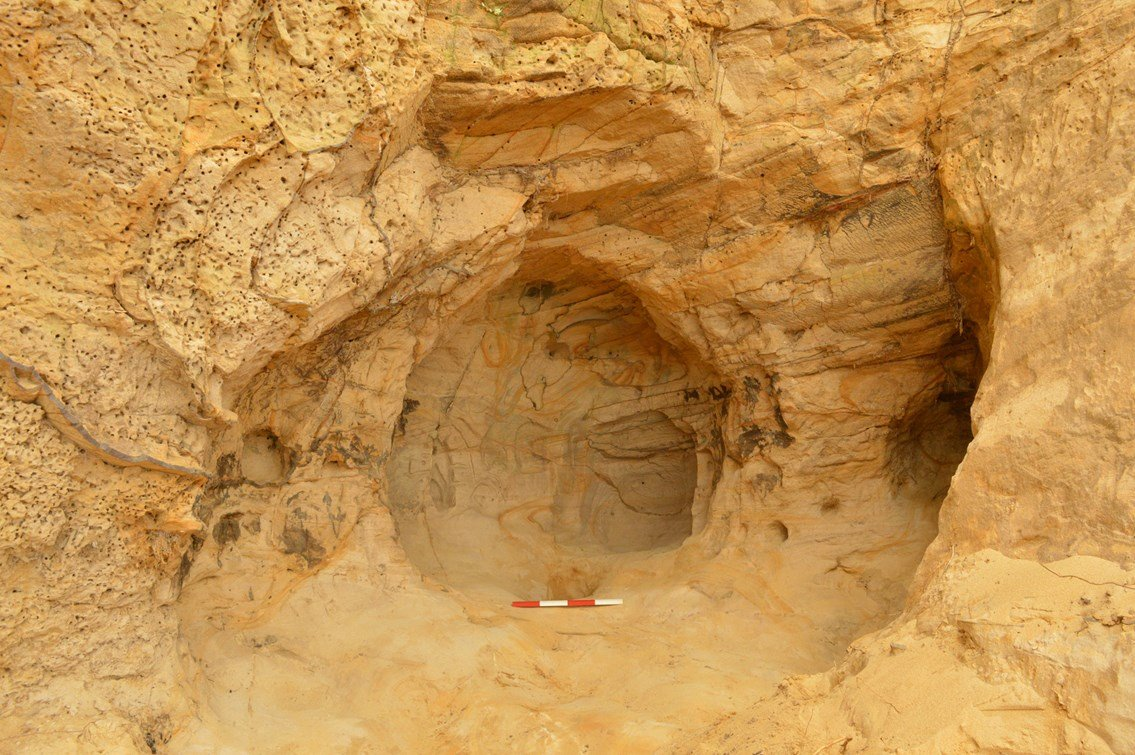 14th century cave discovered in England - Medievalists.net