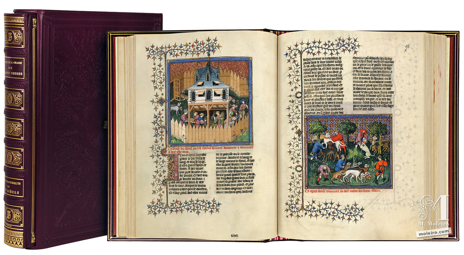 Medieval Manuscripts: The Book of the Hunt, by Gaston Fébus