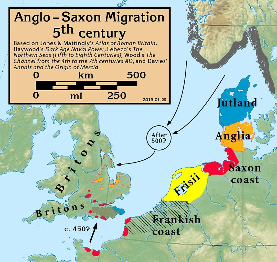 Anglo-Saxon ancestry was 'mixed and mutable', researchers find - Medievalists.net