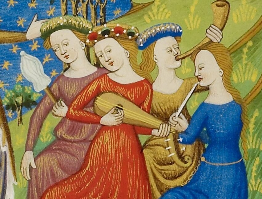 The Better Half: Women and Music in the Middle Ages - Medievalists.net